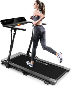 A lady jogging on RHFitness Treadmill