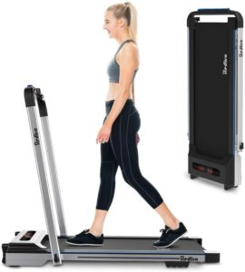 REDLIRO treadmill for using both under desk and out of desk