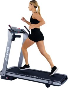 Electric Running Treadmill with Auto Incline