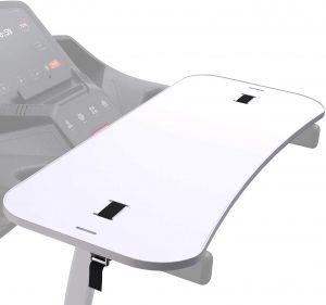 Desk attachment for treadmill