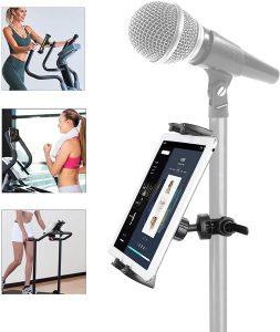 holder for phone, tablet, mic