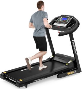 A man running on the Incline treadmill