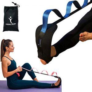 calf stretching straps