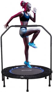 Compact trampoline