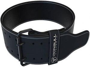 leather exercise belt