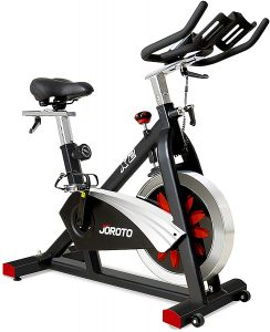 Belt Drive Indoor Cycling Bike with Magnetic Resistance