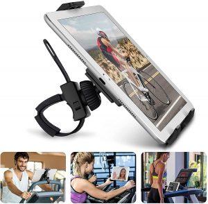 tablet holder for exercise bike