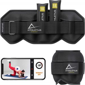 Adjustable Ankle Weights for Women Men