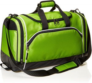 gym bag in green