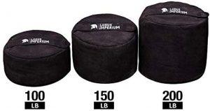 separated sandbag weights