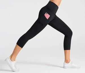 Dragon Fit High Waist Yoga Leggings with 3 Pockets