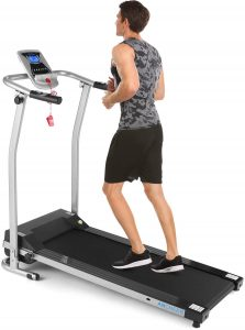 Electric Running Machine with LCD Screen