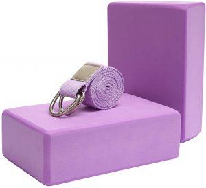 Carllg Yoga Blocks 2Pack Set