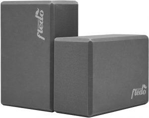 Fledo Yoga Blocks 2 Pack, Foam Yoga Brick