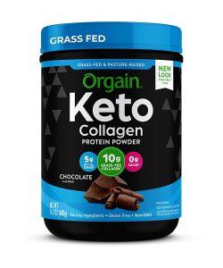 Orgain Keto Collagen Protein Powder with MCT Oil
