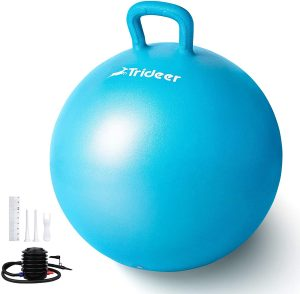 best yoga balls, hopper ball
