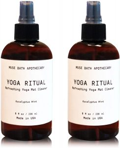 Aromatic and Refreshing Yoga Mat Cleaners