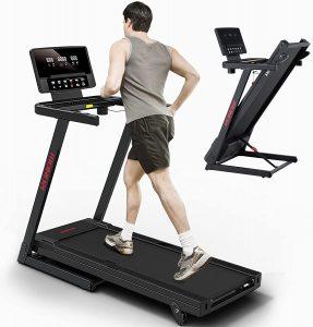 RUNOW Folding Treadmill for Home, 2.5HP Incline Treadmill with 36 Preset Programs