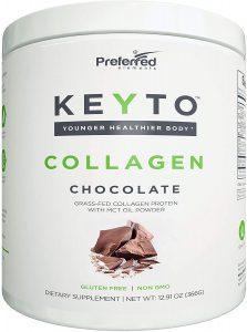 Keto Collagen Protein Powder with MCT Oil