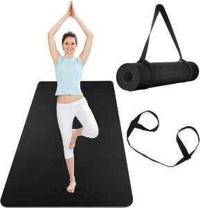large yoga mat for men and women