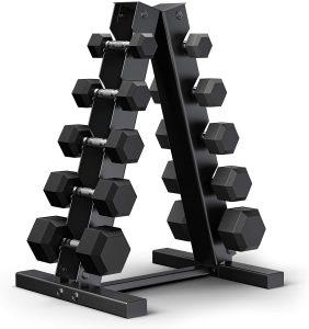 dumbbell rack set