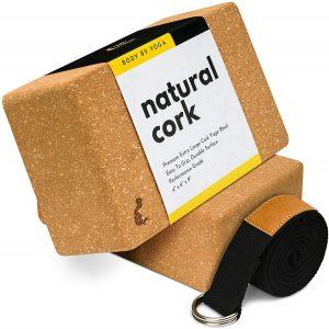 Luxury Cork Yoga Block Set