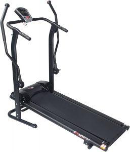 Adjustable Incline Magnetic Manual Treadmill