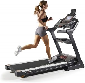 sole treadmill with foldable design