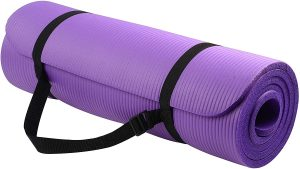 yoga mats with straps