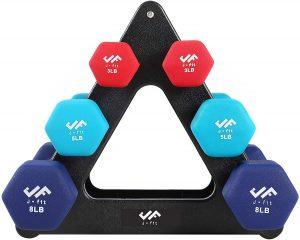 fitness accessories under 50 - little dumbbells set