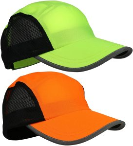 Reflective Running Hat 2pack for Men and Women