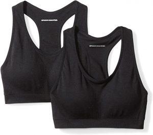 black amazonbasic sport bra