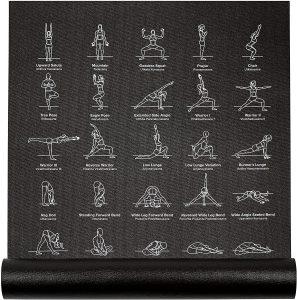 yoga mat for woman