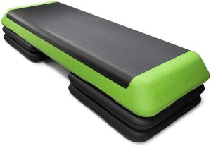 Goplus 43'' Step Platform Adjustable Fitness Aerobic Stepper