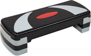 BalanceFrom Adjustable Workout Aerobic Stepper Step Platform Trainer