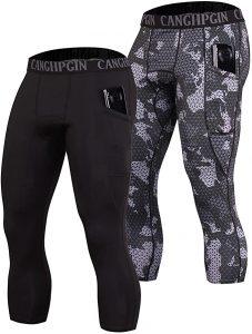 CANGHPGIN Sport Leggings for Men