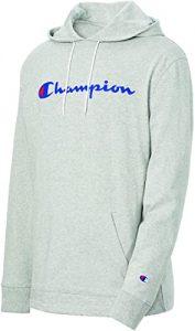 Champion Men's Long Sleeve T-Shirt Hoodie