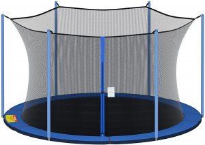 Cliselda 12ft 13ft 14ft 15ft Trampoline Replacement Enclosure Net