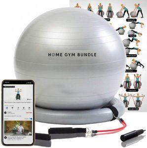 Home Gym Bundle Exercise Ball Chair