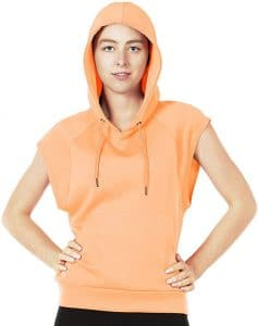 ICYZONE WORKOUT HOODIE FOR WOMEN