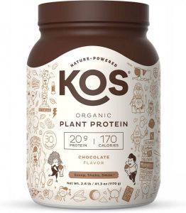 KOS Organic Plant Based Protein Powder
