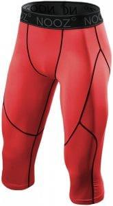 Nooz Men's Compression Capri Pants Baselayer Leggings