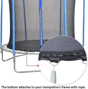 Zoyemone 12 14 15FT jumping net