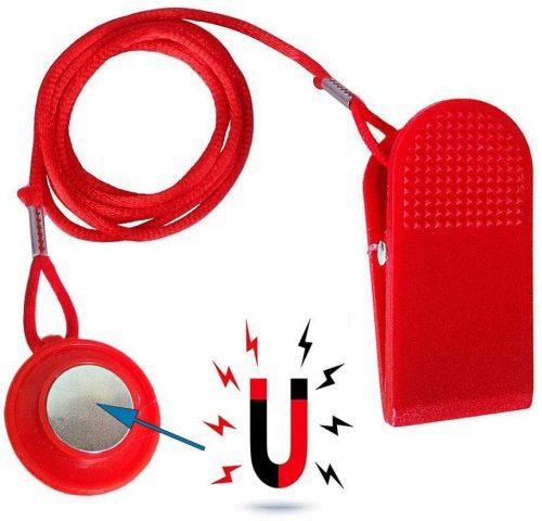 Red Treadmill Safety Key
