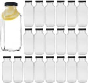 glass square bottles